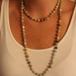 GREAT LAYERING BEADED NECKLACE!